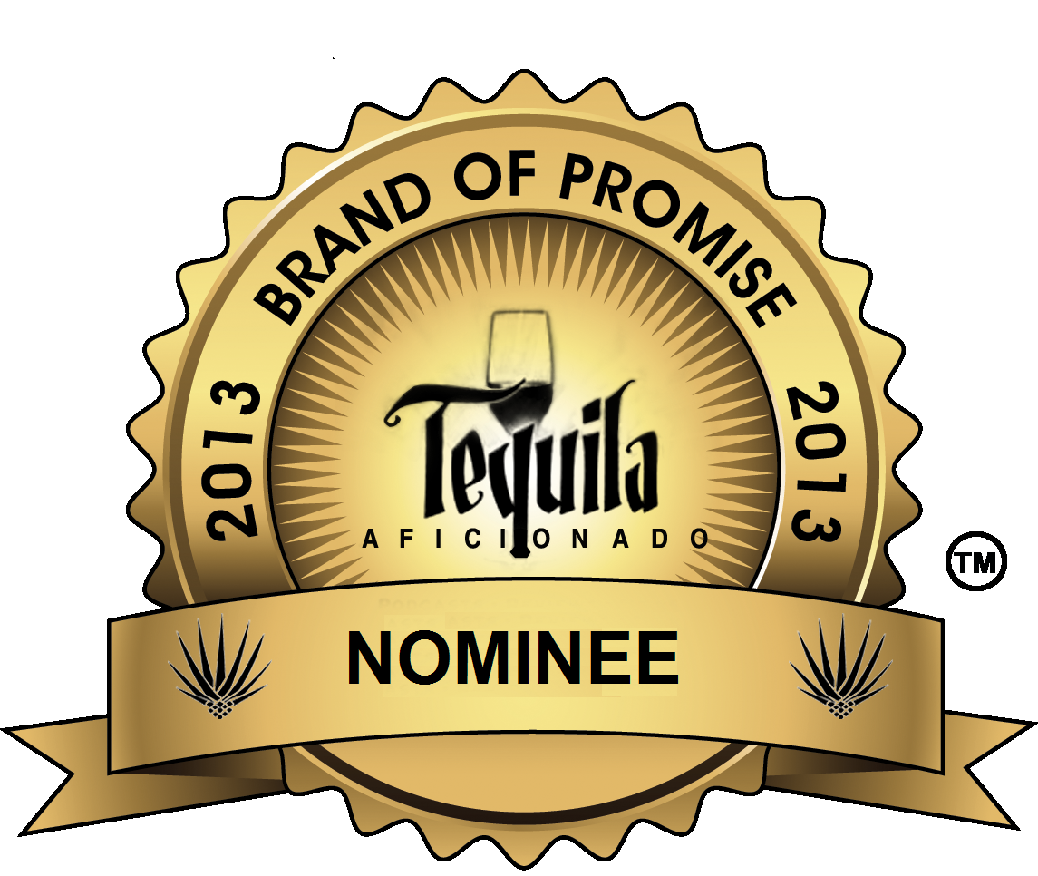 brand of promise avion espresso nominee award tequila aficionado