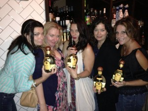 The ladies of Salt, Liquor, Lime have fun with Siete Leguas tequila.