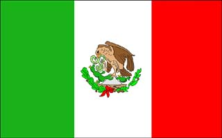 mexico, flag, banderas