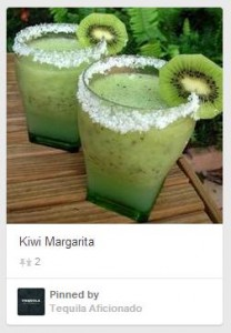 kiwi margarita, Tequila Drinks