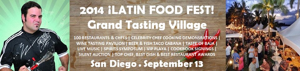 tasting village, latin food fest