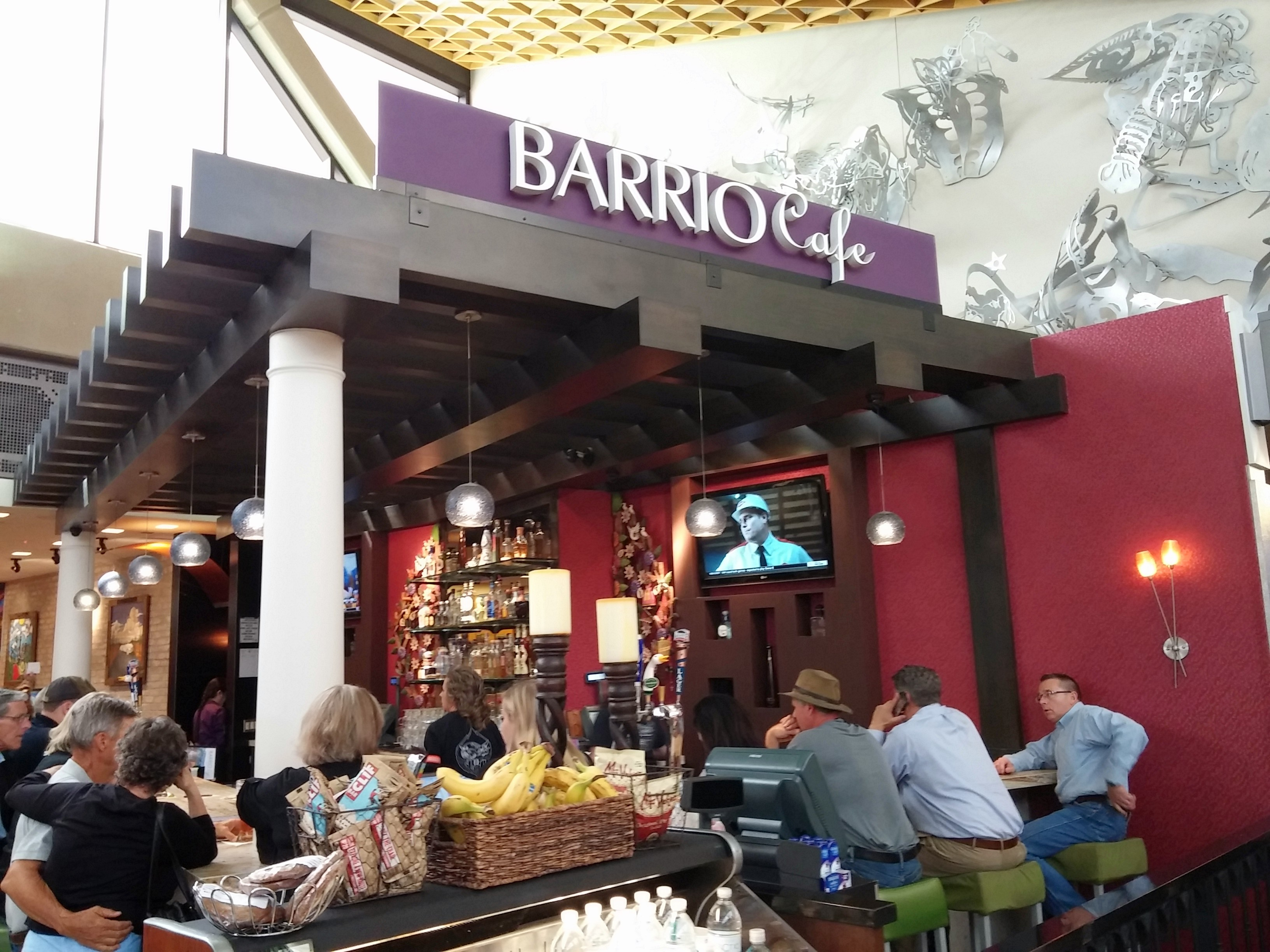 Barrio Café por Avión at PHX Sky Harbor International Airport.