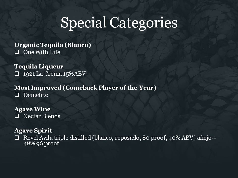 Slide2 Special Categories